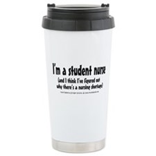 Nursing Shortage Travel Coffee Mug