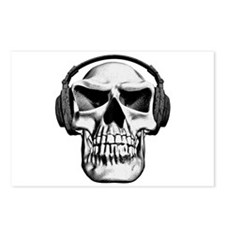Skull Headphones Postcards (Package of 8)