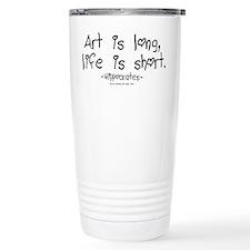 Hippocrates on Art Thermos Mug