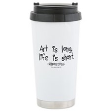 Hippocrates on Art Travel Mug
