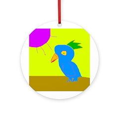 Piper's Bird Keepsake (Round)