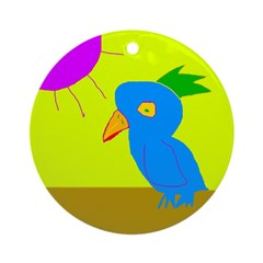 Piper's Bird Keepsake (Round)