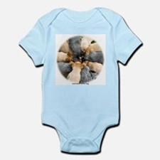 Australian Cattle Dog pups Infant Bodysuit
