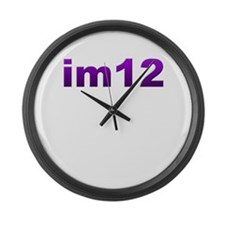 im12 Large Wall Clock