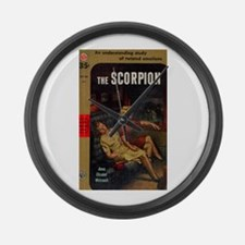 The Scorpion Large Wall Clock