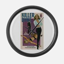 Killer Dyke Large Wall Clock