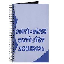 Anti-War Activist Journal in Blue