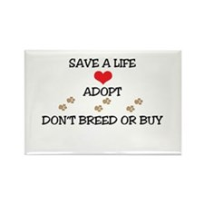 Adopt a Pet Rectangle Magnet (10 pack)