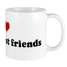 I Love J&E my best friends Mug