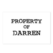 Property of Darren Postcards (Package of 8)