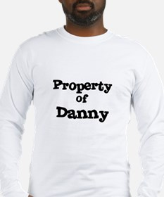 Property of Danny Long Sleeve T-Shirt
