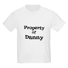 Property of Danny Kids T-Shirt