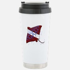 Dive Flag: Ray Stainless Steel Travel Mug