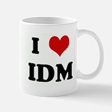 I Love IDM Mug
