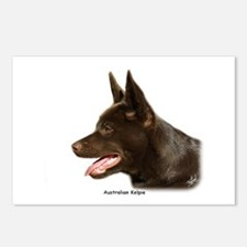 Australian Kelpie 9P24D-134 Postcards (Package of