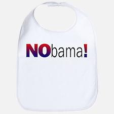 Nobama Anti Obama Bib