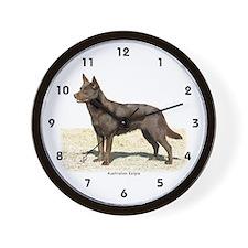 Australian Kelpie 9P21D-247 Wall Clock