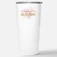 She is Fierce - Swirl Travel Mug