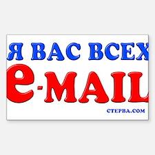 CTEPBA.com Rectangle Decal