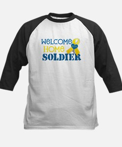 "Welcome Home Soldier ""My Hero Kids Baseball Jersey"