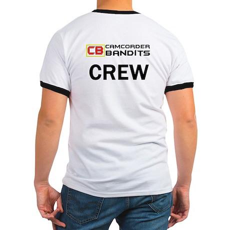 'CREW' Ringer Tshirt