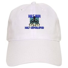 Half Man Half Cephalopod Baseball Cap