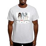 Nothin' Butt Catahoulas Ash Grey T-Shirt