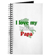 I Love My Italian Papa Journal