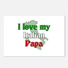 I Love My Italian Papa Postcards (Package of 8)