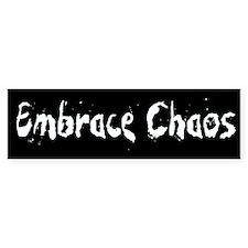 Embrace Chaos Bumper Bumper Sticker