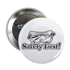 "Safety First 2.25"" Button"