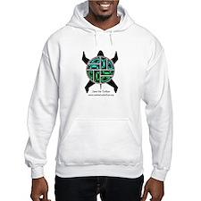 Native Inspired Sea Turtle Art Hoodie