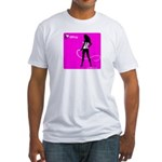 GlamourNation.com Fitted T-Shirt