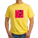 GlamourNation.com Yellow T-Shirt