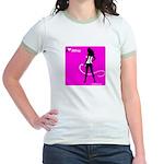 GlamourNation.com Jr. Ringer T-Shirt