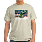Xmas Magic & Whippet Light T-Shirt