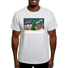 Xmas Magic & Whippet T-Shirt