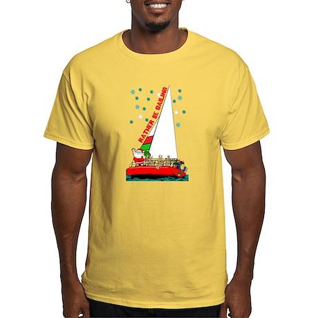 Sail Fast Live Slow Sailing Boat Shirt T-Shirt