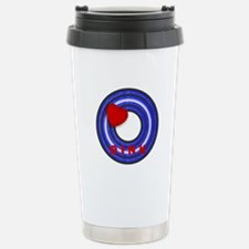 LEATHER PRIDE CIRCLE/OINK Travel Mug