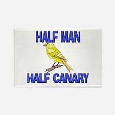 Half Man Half Canary Rectangle Magnet