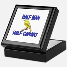 Half Man Half Canary Keepsake Box