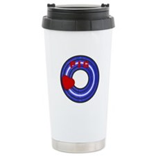 LEATHER PRIDE CIRCLE/PIG Travel Mug