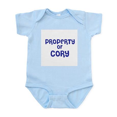 Property of Cory Infant Creeper