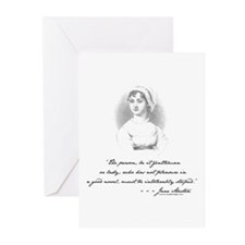 Jane Austen Attitude Greeting Cards (Pk of 10)