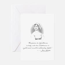 Jane Austen Attitude Greeting Cards (Pk of 10)