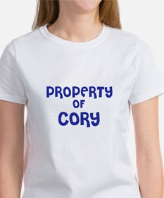 Property of Cory Tee