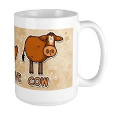 peace love cow Mug