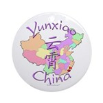Yunxiao China Map Ornament (Round)
