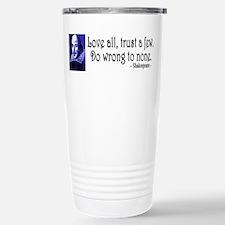 Pop Art Shakespeare Travel Mug