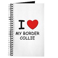 I love MY BORDER COLLIE Journal